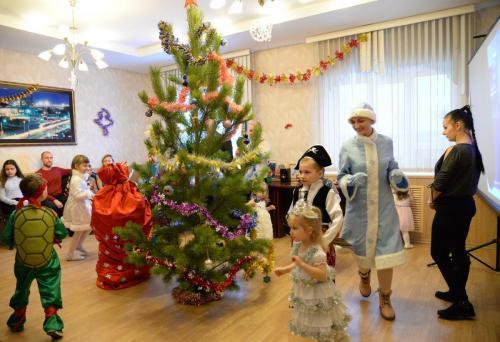 В управлении по обеспечению безопасности города прошла новогодняя елка