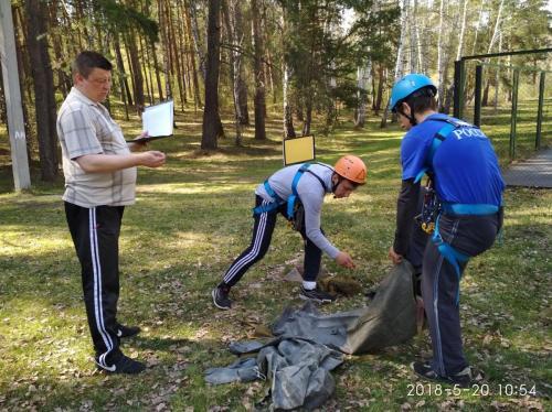 Проведение городского слета – соревнования «Зарница — Школа безопасности -2018»