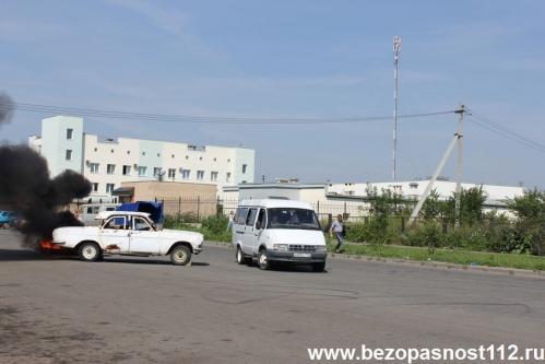 В Челябинске прошли совместные учения по ликвидации последствий ДТП
